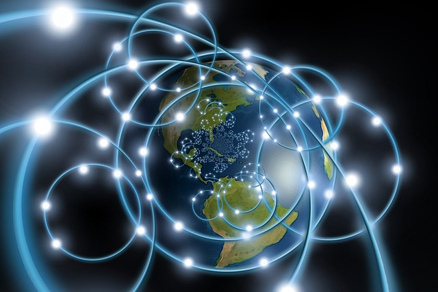 síť a planeta
