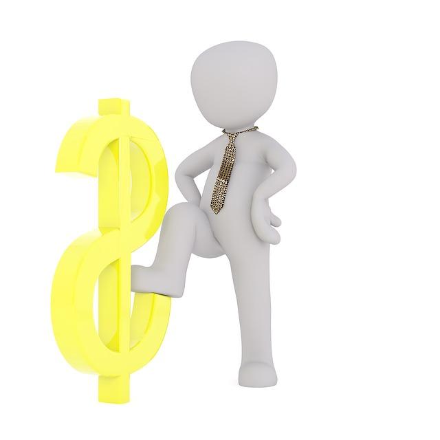 panáček a dolar