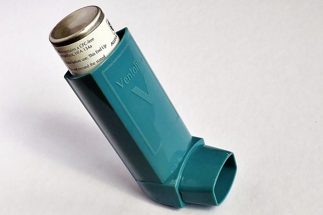 sprej na astma