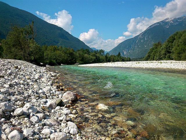 čisté řeky
